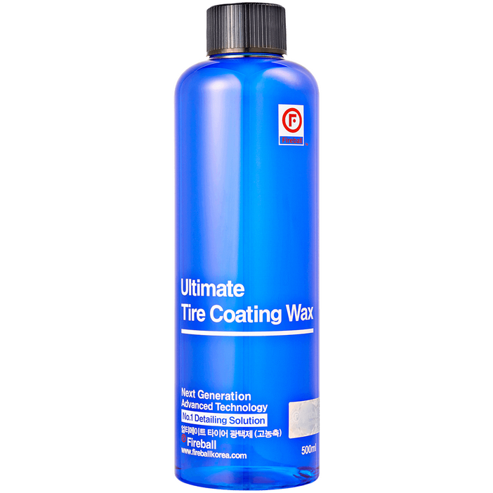 ULTIMATE TIRE COATING WAX Blue/ Oživovač pneumatík 500 ml Fireball