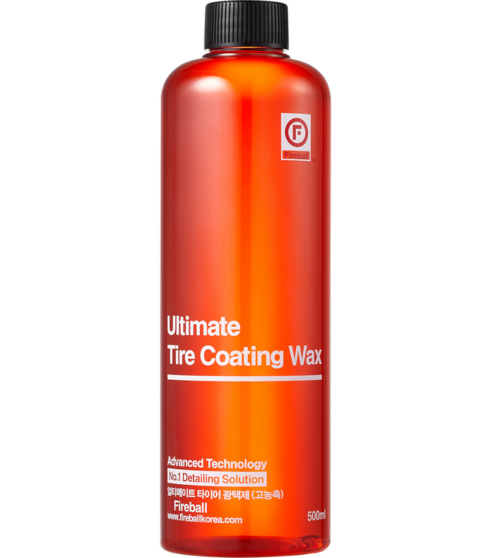 ULTIMATE TIRE COATING WAX Red/ Oživovač pneumatík 500 ml Fireball