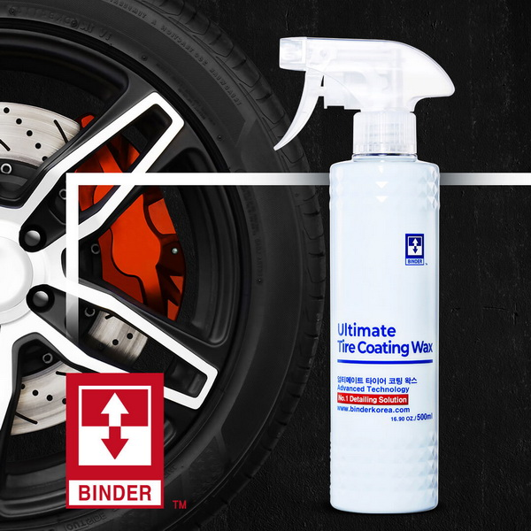 ULTIMATE TIRE COATING WAX/ Oživovač pneumatík a plastov 500 ml Binder