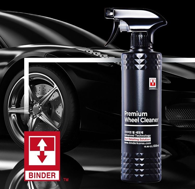 Binder PREMIUM WHEEL CLEANER - Čistič kolies  500 ml