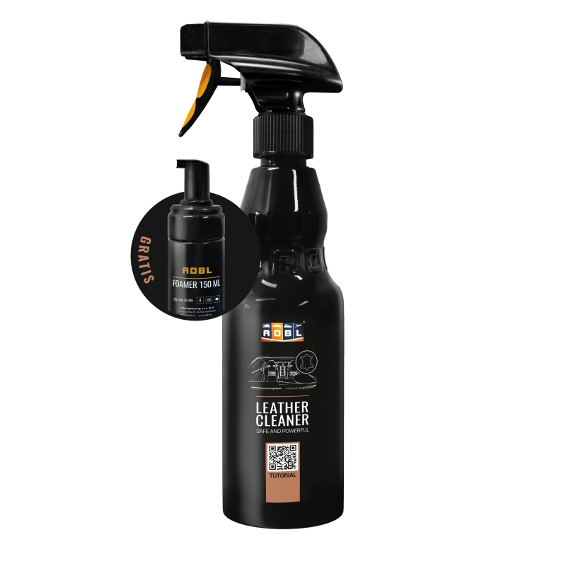 ADBL LEATHER CLEANER - Čistič kože 1L + napeňovač