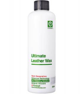 ULTIMATE LEATHER WAX/ Balzam na kožu a plasty 500 ml Fireball