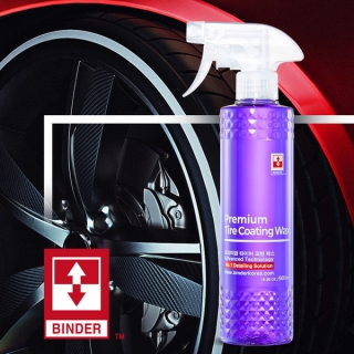 PREMIUM TIRE COATING WAX/ Oživovač pneumatík - lesklý 500 ml Binder